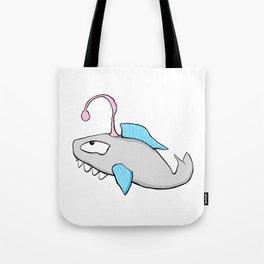 Scribble2Masterpiece - LANTERN FISH in OCEAN! Tote Bag