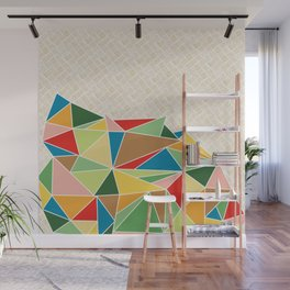 Triangle Heap Wall Mural