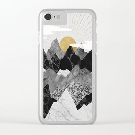 Sun rise Clear iPhone Case