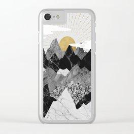 Sun rise Clear iPhone Case
