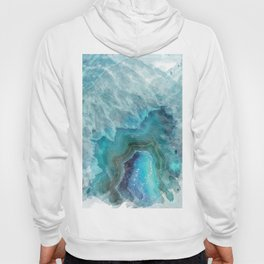 Blue Aqua Agate Hoody
