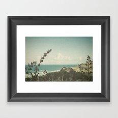 West Coast Framed Art Print
