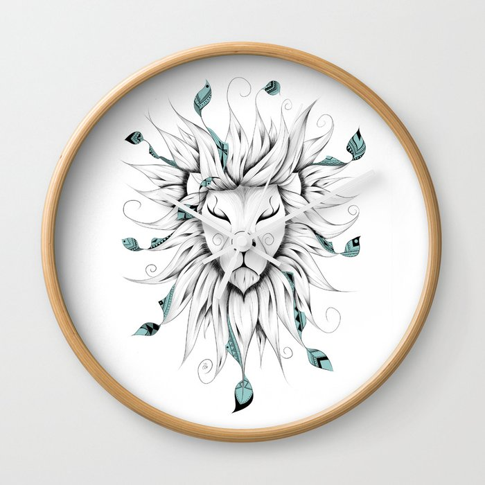 Poetic King Wall Clock