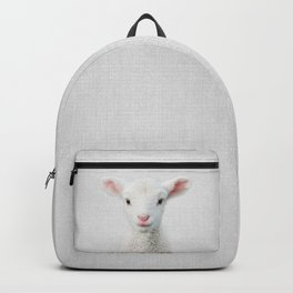Lamb - Colorful Backpack