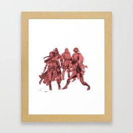 The Squad Framed Art Print