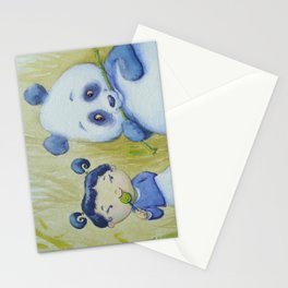 """Panda Pal Pleasantries"" Stationery Cards"