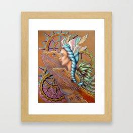 DragonGears Framed Art Print