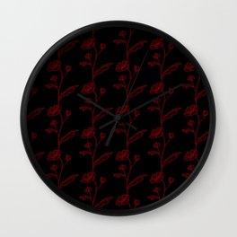 Juliette Blue Wall Clock