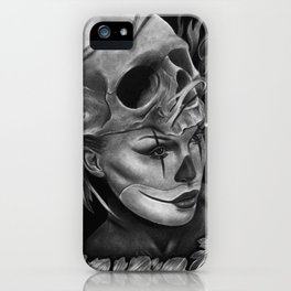 Skull/Woman iPhone Case