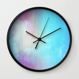 Dream - Watercolor Painting Wall Clock