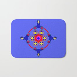 Fidget Spinner Design version 4 Bath Mat