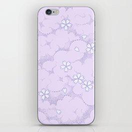 Kumori Nochi Sakura: Purple iPhone Skin