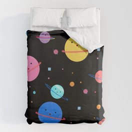 Hula Universe Duvet Cover