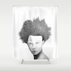 AlBINO  Shower Curtain