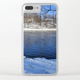 River Flows Clear iPhone Case