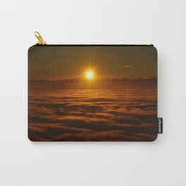 Above the Sky Sunrise Carry-All Pouch