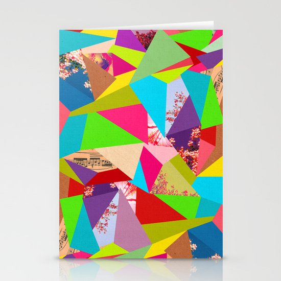 Colorful Thoughts Stationery Cards