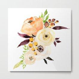 Friday Flowers Metal Print