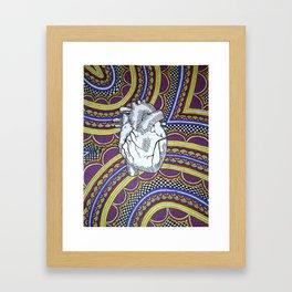 Oh The Heart (Full) Framed Art Print