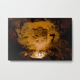 Salle X // X Room Metal Print