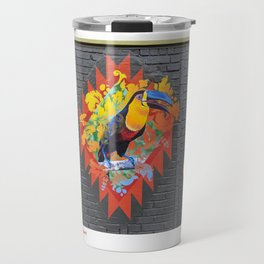 Eco Mural Project 10: Channel-Billed Toucan Wall Travel Mug