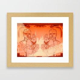 Santo Framed Art Print