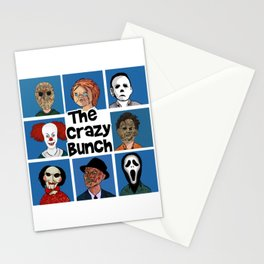 The Crazy Bunch Stationery Cards