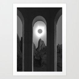 Noir Art Print