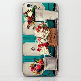 Vintage + Flowers  iPhone Skin