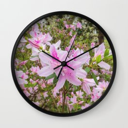 Spring in Bloom Wall Clock