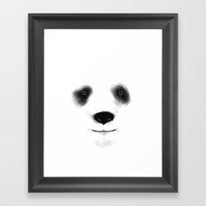 Panda Friend Framed Art Print