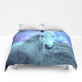 Blue Horse Celestial Dreams Comforters