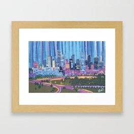 Clear - Denver, Colorado Framed Art Print