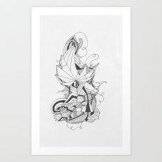 Art of Geometry 1 Art Print