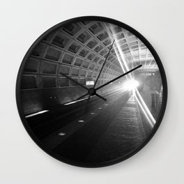 Capitol South Metro Wall Clock
