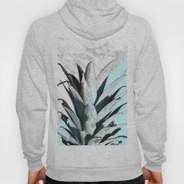 Pineapple Top Marble Pastel Blue Hoody