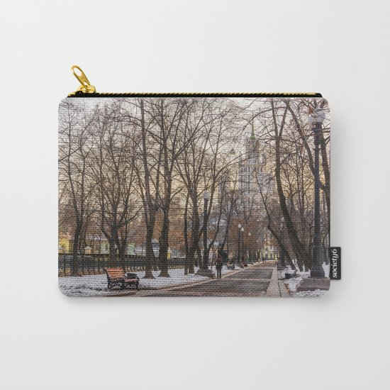 Sadovoye Koltso in Moscow Carry-All Pouch