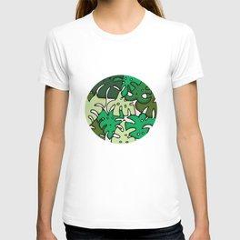 Monstera Circle T-shirt