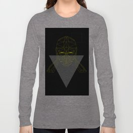 polygon head Long Sleeve T-shirt