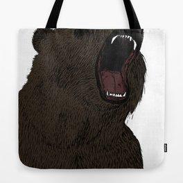 Hear my scream - Bear Tote Bag