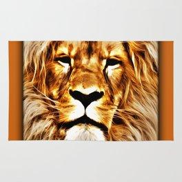 Lion Portrait Rug