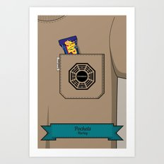 Pockets - Hurley - Art Print