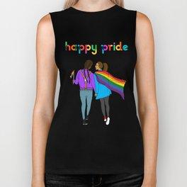 Happy Pride Biker Tank
