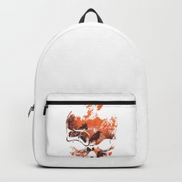 Artistic Skull Gothic Skeleton Crow Goth Gift Backpack