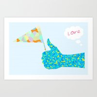 loveCopy Art Print