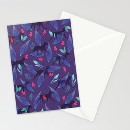 WEIM HEART LEAVES Stationery Cards
