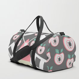 Windmill, apples and grains Duffle Bag