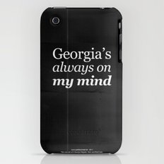 Georgia's always on my mind iPhone (3g, 3gs) Slim Case