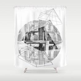 Pyramid_1 Shower Curtain