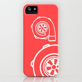 Forced Induction Turbo iPhone Case